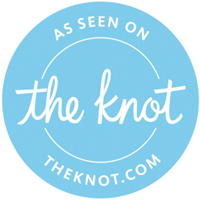As seen on The Knot.